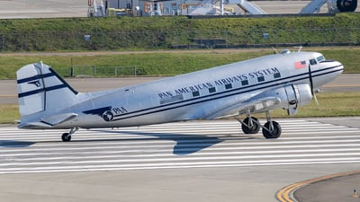 N877MG - Douglas DC-3C - Private