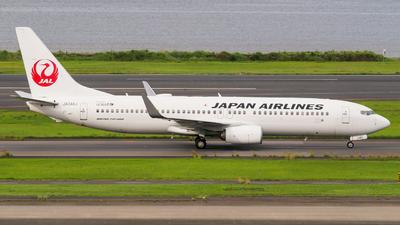 JA340J - Boeing 737-846 - Japan Airlines (JAL)