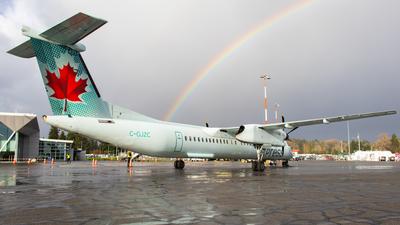 A picture of CGJZC - De Havilland Canada Dash 8400 - Air Canada - © CJMAviation