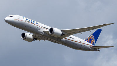 A picture of N29961 - Boeing 7879 Dreamliner - United Airlines - © TJDarmstadt