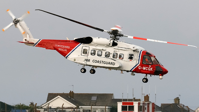 G-MCGK - Sikorsky S-92A Helibus - Bristow Helicopters