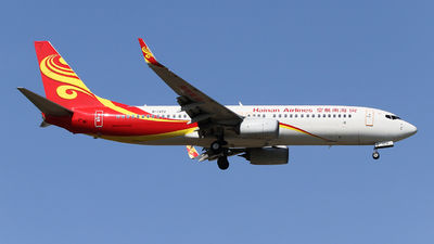 A picture of B1372 - Boeing 73784P - Hainan Airlines - © ceci wong