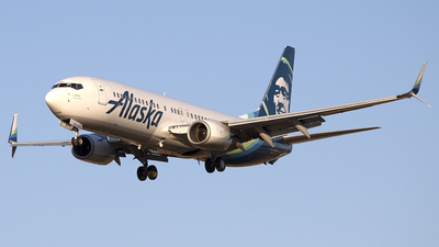 N594AS - Boeing 737-890 - Alaska Airlines