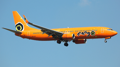 ZS-SJB - Boeing 737-8S3 - Mango Airlines