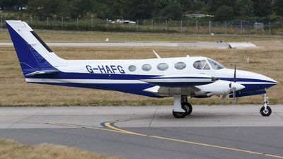 A picture of GHAFG - Cessna 340A - [340A1806] - © Thimo van Dijk