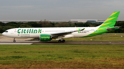 PK-GYC - Airbus A330-941 - Citilink