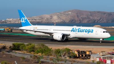 A picture of ECNGN - Boeing 7879 Dreamliner - Air Europa - © Pablo Gonzalez de Leon