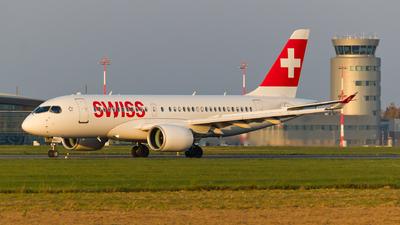 HB-JBG - Bombardier CSeries CS100  - Swiss