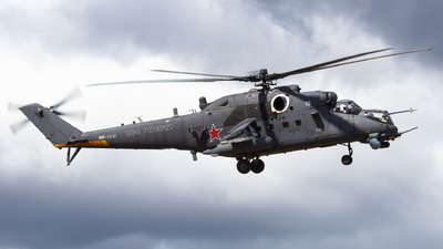 RF-13012 - Mil Mi-35M Hind - Russia - Air Force
