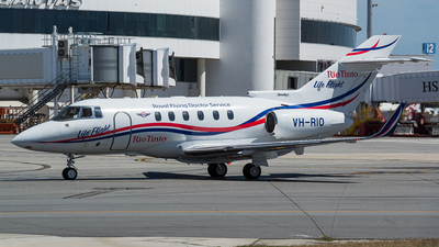 VH-RIO - Raytheon Hawker 800XP - Royal Flying Doctor Service of Australia (Western Operations)