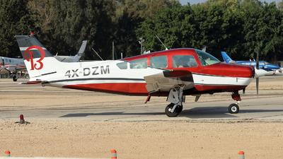 4X-DZM - Beechcraft B24R Sierra 200 - Private
