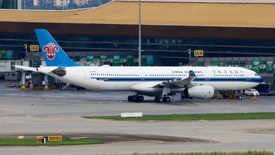 A picture of B300U - Airbus A330343 - China Southern Airlines - © ChengFJ