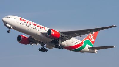 5Y-KQT - Boeing 777-2U8(ER) - Kenya Airways