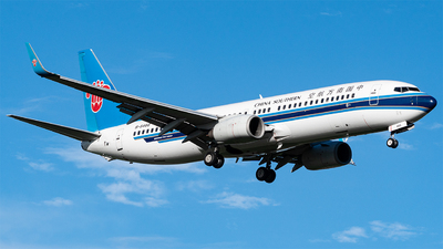 A picture of B5468 - Boeing 73781B - China Southern Airlines - © KirkXWB