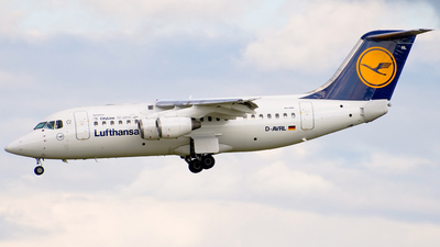 D-AVRL - British Aerospace Avro RJ85 - Lufthansa Regional (CityLine)
