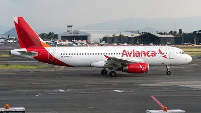 N493TA - Airbus A320-233 - Avianca Central America