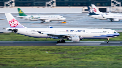 B-18308 - Airbus A330-302 - China Airlines