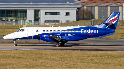 A picture of GMAJY - BAe Jetstream 41 - Eastern Airways - © Ethan Hew - p_nilly