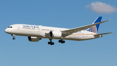 N27959 - Boeing 787-9 Dreamliner - United Airlines
