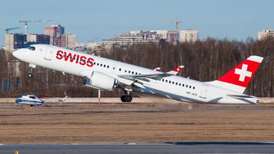 A picture of HBJCS - Airbus A220300 - Swiss - © Yury Koryagin