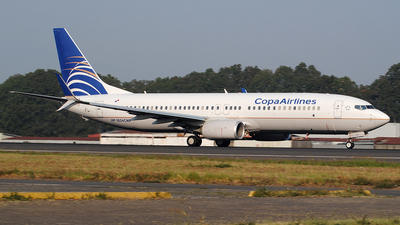 HP-1834CMP - Boeing 737-8V3 - Copa Airlines