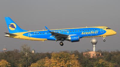UR-DSA - Embraer 190-100STD - AeroSvit Ukrainian Airlines