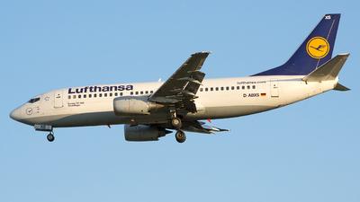 D-ABXS - Boeing 737-330 - Lufthansa