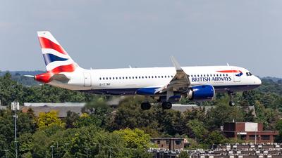 G-TTNF - Airbus A320-251N - British Airways
