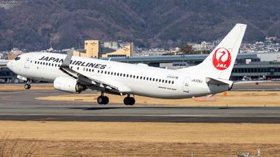 A picture of JA308J - Boeing 737846 - Japan Airlines - © LUSU