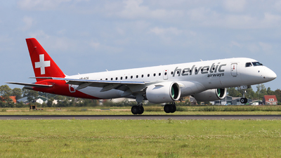 A picture of HBAZG - Embraer E190E2 - Helvetic Airways - © Joost Alexander