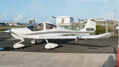 N989MA - Diamond DA-40 Diamond Star - Private