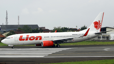 PK-LJU - Boeing 737-8GP - Lion Air