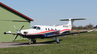 A picture of N723ST - Pilatus PC12/47 - Boutique Air - © Mogens Juhl