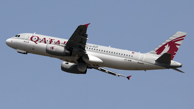 A7-AHB - Airbus A320-232 - Qatar Airways