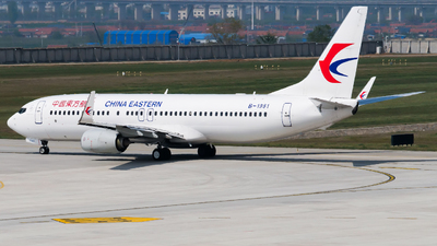 B-1981 - Boeing 737-89P - China Eastern Airlines