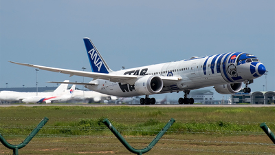 JA873A - Boeing 787-9 Dreamliner - All Nippon Airways (ANA)