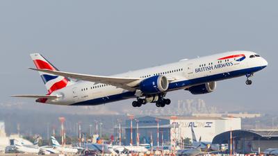 A picture of GZBKG - Boeing 7879 Dreamliner - British Airways - © Eyal Zarrad