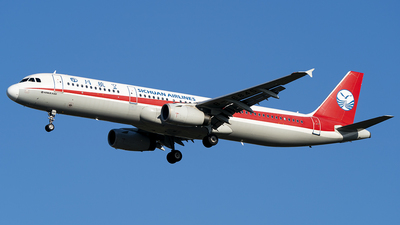 B-6845 - Airbus A321-231 - Sichuan Airlines