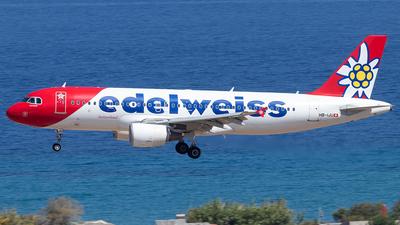 A picture of HBIJU - Airbus A320214 - Edelweiss Air - © Niklas Engel
