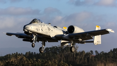 82-0654 - Fairchild A-10C Thunderbolt II - United States - US Air Force (USAF)