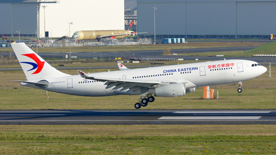 F-WWCG - Airbus A330-243 - China Eastern Airlines