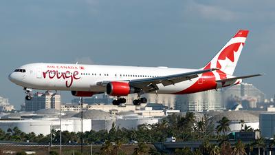 C-FXCA - Boeing 767-375(ER) - Air Canada Rouge