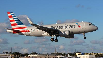 A picture of N9021H - Airbus A319115 - American Airlines - © Carlos Alberto Rubio Herrera