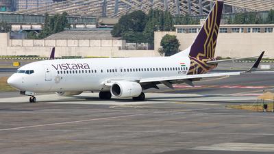 A picture of VTTGB - Boeing 7378AL - Vistara - © Janam Parikh