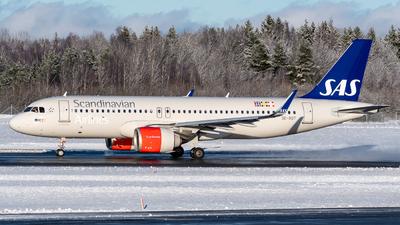 A picture of SEROT - Airbus A320251N - SAS - © Oscar Wistrand