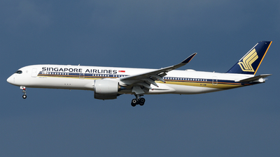9V-SMW - Airbus A350-941 - Singapore Airlines