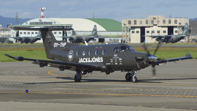 OY-THP - Pilatus PC-12/47E - Blackbird