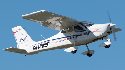 9H-MSF - Tecnam P92 Echo JS - Malta School of Flying