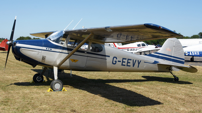 G-EEVY - Cessna 170A - Private