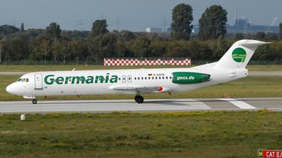 D-AGPN - Fokker 100 - Germania